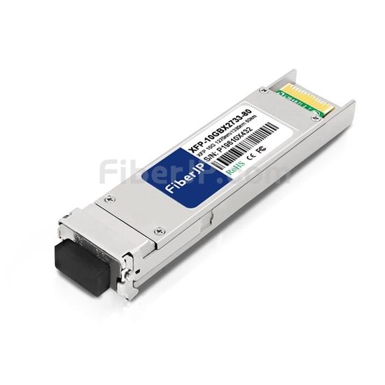 Brocade 10G-XFP-BXU-80K対応互換 10GBASE-BX XFPモジュール(1270nm-TX/1330nm-RX 80km DOM)の画像