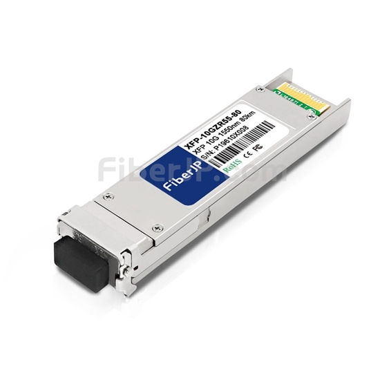 Brocade 10G-XFP-ZR対応互換 10GBASE-ZR XFPモジュール(1550nm 80km DOM)の画像