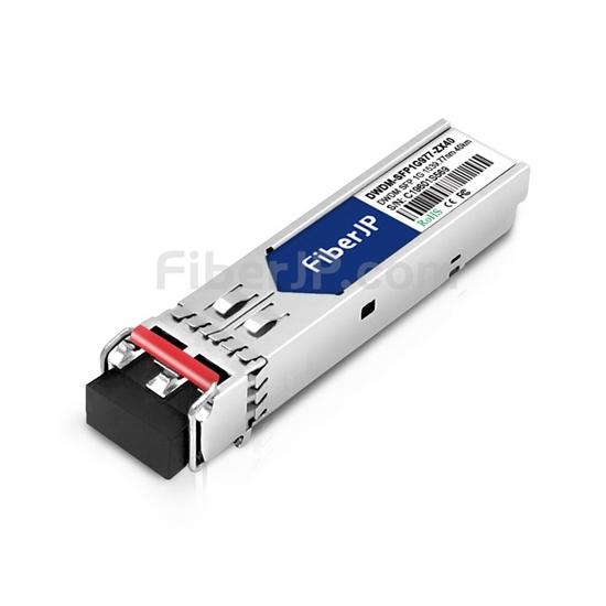 HUAWEI C47 DWDM-SFP1G-39.77-40対応互換 1000BASE-DWDM SFPモジュール(100GHz 1539.77nm 40km DOM)の画像
