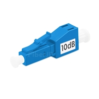 LC/UPC シングルモード光固定減衰器(オス-メス、10dB)の画像