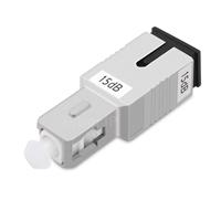 SC/UPC シングルモード光固定減衰器(オス-メス、15dB)の画像