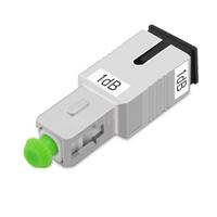 SC/APC シングルモード光固定減衰器(オス-メス、1dB)の画像