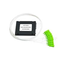 1x8 PLC型光スプリッタ(スプライス/ピグテールABSモジュール、900μm、SC/APC、シングルモード)の画像