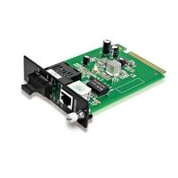 一元管理型カードタイプ ギガビットイーサネットメディアコンバーター(1x 10/100/1000Base-T RJ45~1x 1000Base-X SC/LC/FC/ST、デュアルファイバ、850nm 550m)の画像