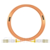 20m LC/UPC-LC/UPC デュプレックス マルチモード 光パッチケーブル(3.0mm PVC/OFNR OM1)の画像