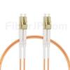 1m LC/UPC-LC/UPC デュプレックス マルチモード 光パッチケーブル(2.0mm LSZH OM2)の画像