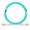 30m LC/UPC-LC/UPC デュプレックス マルチモード 光パッチケーブル(2.0mm PVC/OFNR OM3)の画像