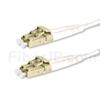 15m LC/UPC-LC/UPC デュプレックス マルチモード 光パッチケーブル(2.0mm PVC/OFNR OM3)の画像