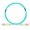7m LC/UPC-LC/UPC デュプレックス マルチモード 光パッチケーブル(2.0mm PVC/OFNR OM3)の画像