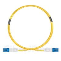 2m LC/UPC-LC/UPC デュプレックス シングルモード 光パッチケーブル(2.0mm PVC/OFNR OS2)の画像