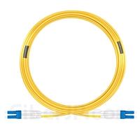 30m LC/UPC-LC/UPC デュプレックス シングルモード 光パッチケーブル(2.0mm PVC/OFNR OS2)の画像