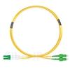 3m LC/APC-SC/APC デュプレックス シングルモード 光パッチケーブル(2.0mm PVC/OFNR OS2)の画像