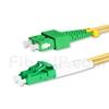 1m LC/APC-SC/APC デュプレックス シングルモード 光パッチケーブル(2.0mm PVC/OFNR OS2)の画像