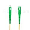 1m SC/APC-SC/APC デュプレックス シングルモード 光パッチケーブル(2.0mm PVC/OFNR OS2)の画像