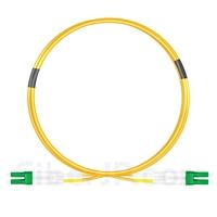 1m LC/APC-LC/APC デュプレックス シングルモード 光パッチケーブル(2.0mm OFNP 9/125)の画像