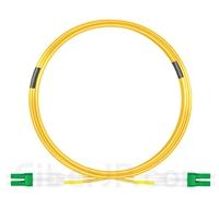 10m LC/APC-LC/APC デュプレックス シングルモード 光パッチケーブル(3.0mm PVC/OFNR 9/125)の画像