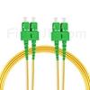 7m SC/APC-SC/APC デュプレックス シングルモード 光パッチケーブル(3.0mm PVC/OFNR 9/125)の画像