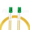 30m LC/APC-LC/APC デュプレックス シングルモード 光パッチケーブル(3.0mm PVC/OFNR 9/125)の画像