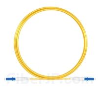 5m LC/UPC-LC/UPC シンプレックス シングルモード 光パッチケーブル(2.0mm PVC/OFNR OS2)の画像
