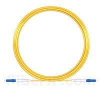 15m LC/UPC-LC/UPC シンプレックス シングルモード 光パッチケーブル(2.0mm PVC/OFNR OS2)の画像