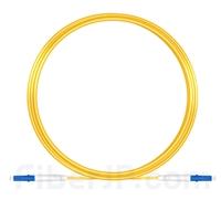 10m LC/UPC-LC/UPC シンプレックス シングルモード 光パッチケーブル(2.0mm PVC/OFNR OS2)の画像