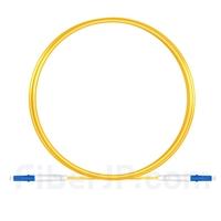 3m LC/UPC-LC/UPC シンプレックス シングルモード 光パッチケーブル(2.0mm PVC/OFNR OS2)の画像