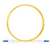 1m LC/UPC-LC/UPC シンプレックス シングルモード 光パッチケーブル(2.0mm PVC/OFNR OS2)の画像