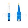 3m LC/UPC-SC/UPC シンプレックス シングルモード 光パッチケーブル(2.0mm PVC/OFNR OS2)の画像