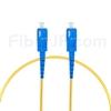 1m SC/UPC-SC/UPC シンプレックス シングルモード 光パッチケーブル(2.0mm PVC/OFNR OS2)の画像