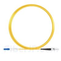 5m LC/UPC-ST/UPC シンプレックス シングルモード 光パッチケーブル(2.0mm PVC/OFNR OS2)の画像