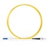 1m LC/UPC-ST/UPC シンプレックス シングルモード 光パッチケーブル(2.0mm PVC/OFNR OS2)の画像