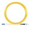 20m LC/UPC-ST/UPC シンプレックス シングルモード 光パッチケーブル(2.0mm PVC/OFNR OS2)の画像
