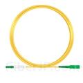 10m LC/APC-SC/APC シンプレックス シングルモード 光パッチケーブル(2.0mm PVC/OFNR OS2)の画像