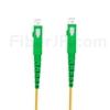 1m SC/APC-SC/APC シンプレックス シングルモード 光パッチケーブル(2.0mm PVC/OFNR OS2)の画像