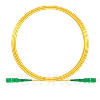 10m SC/APC-SC/APC シンプレックス シングルモード 光パッチケーブル(2.0mm PVC/OFNR OS2)の画像