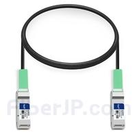 1m Arista Networks CAB-Q-Q-100G-1M対応互換 100G QSFP28パッシブダイレクトアタッチ銅製Twinaxケーブル(DAC)の画像