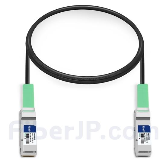 1m HUAWEI QSFP-100G-CU1M対応互換 100G QSFP28パッシブダイレクトアタッチ銅製Twinaxケーブル(DAC)の画像