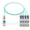 2m Arista Networks AOC-Q-4S-100G-2M対応互換 100G QSFP28/4x25G SFP28ブレイクアウトアクティブオプティカルケーブル(AOC)の画像