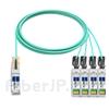 10m Arista Networks AOC-Q-4S-100G-10M対応互換 100G QSFP28/4x25G SFP28ブレイクアウトアクティブオプティカルケーブル(AOC)の画像