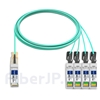 10m Cisco QSFP-4SFP25G-AOC10M対応互換 100G QSFP28/4x25G SFP28ブレイクアウトアクティブオプティカルケーブル(AOC)の画像