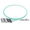 1m Juniper Networks JNP-100G-4X25G-1M対応互換 100G QSFP28/4x25G SFP28ブレイクアウトアクティブオプティカルケーブル(AOC)の画像