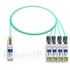 2m Juniper Networks JNP-100G-4X25G-2M対応互換 100G QSFP28/4x25G SFP28ブレイクアウトアクティブオプティカルケーブル(AOC)の画像
