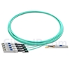 7m Juniper Networks JNP-100G-4X25G-7M対応互換 100G QSFP28/4x25G SFP28ブレイクアウトアクティブオプティカルケーブル(AOC)の画像