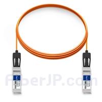 5m Avago AFBR-2CAR05Z対応互換 10G SFP+アクティブオプティカルケーブル(AOC)の画像