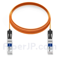 10m Dell (DE) Force10 CBL-10GSFP-AOC-10M対応互換 10G SFP+アクティブオプティカルケーブル(AOC)の画像