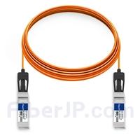 15m Dell (DE) Force10 CBL-10GSFP-AOC-15M対応互換 10G SFP+アクティブオプティカルケーブル(AOC)の画像