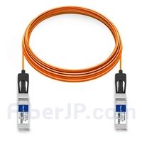 20m Dell (DE) Force10 CBL-10GSFP-AOC-20M対応互換 10G SFP+アクティブオプティカルケーブル(AOC)の画像