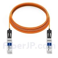 30m Dell (DE) Force10 CBL-10GSFP-AOC-30M対応互換 10G SFP+アクティブオプティカルケーブル(AOC)の画像