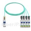 7m Cisco QSFP-4X10G-AOC7M対応互換 40G QSFP+/4x10G SFP+ブレイクアウトアクティブオプティカルケーブル(AOC)の画像