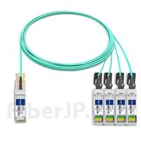 7m HUAWEI QSFP-4SFP10-AOC7M対応互換 40G QSFP+/4x10G SFP+ブレイクアウトアクティブオプティカルケーブル(AOC)の画像